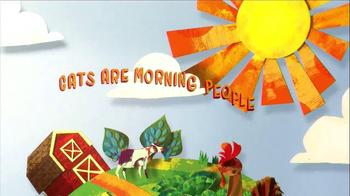 Friskies Rise & Shine TV Spot, 'Now Serving Breakfast' - Thumbnail 7
