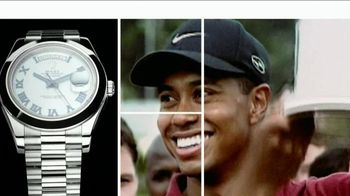 Rolex Oyster Perpetual TV Spot Featuring Tiger Woods - 28 commercial airings