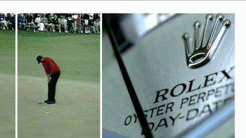 Rolex Oyster Perpetual TV Spot Featuring Tiger Woods - Thumbnail 2