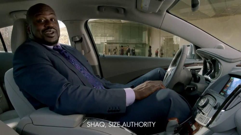 2013 buick lacrosse tv commercial, 'more than expected' feat