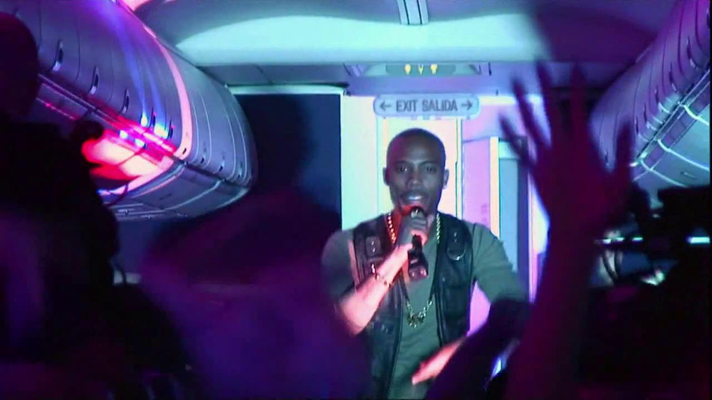Vitaminwater TV Commercial, 'Airplane Performance' Ft. B.o.B. and Yung Skeeter
