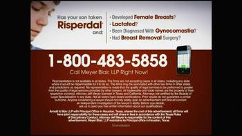 Meyer Blair TV Spot, 'Risperdal' - Thumbnail 7