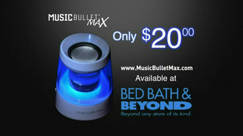 Music Bullet Max TV Spot - Thumbnail 10
