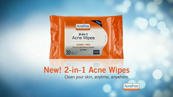 Acne Free 24- Hour Acne Clearing System TV Spot, 'Around-the-Clock' - Thumbnail 8