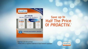 Acne Free 24- Hour Acne Clearing System TV Spot, 'Around-the-Clock' - Thumbnail 7
