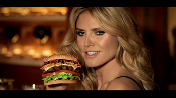 Carl's Jr. Jim Beam Bourbon Burger TV Spot, 'The Graduate' Ft. Heidi Klum - 573 commercial airings