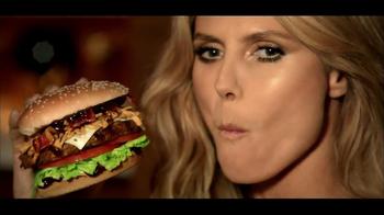 Carl's Jr. Jim Beam Bourbon Burger TV Spot, 'The Graduate' Ft. Heidi Klum - Thumbnail 6