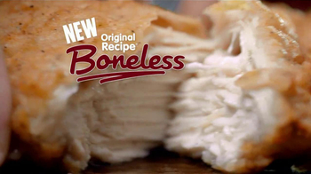 KFC Original Recipe Boneless TV Spot, 'Dad Ate the Bone' - Thumbnail 7