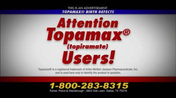 Ferrer, Poirot and Wansbrough TV Spot, 'Topamax Birth Defects' - Thumbnail 2