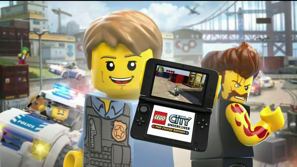 LEGO City Undercover: The Chase Begins TV Commercial, 'Crime is on ...