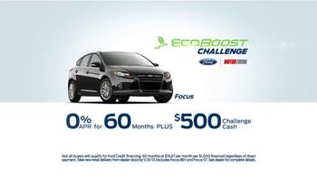 Ford EcoBoost Challenge TV Spot, 'Focus' - Thumbnail 8