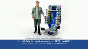 Dr. Scholl's Custom Fit Orthotics Machine TV Spot - Thumbnail 2