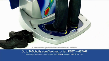 Dr. Scholl's Custom Fit Orthotics Machine TV Spot - Thumbnail 3