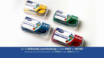 Dr. Scholl's Custom Fit Orthotics Machine TV Spot - Thumbnail 6