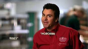 Papa John's Double Layered Pepperoni Pizza TV Spot, 'Twice is Nice' - 571 commercial airings
