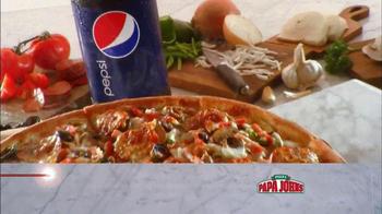 Papa John's Double Layered Pepperoni Pizza TV Spot, 'Twice is Nice' - Thumbnail 7