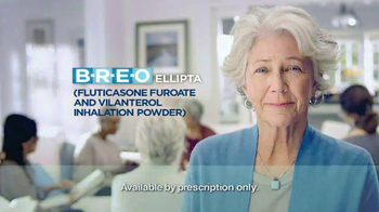 Breo Ellipta TV Spot, 'Breathing Problems'