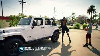 Jeep TV Spot, 'Lovers of the Game' Song by Michael Jackson