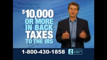 Fix Your Tax TV Spot, 'Let Us Take the Stress' - Thumbnail 1