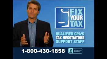 Fix Your Tax TV Spot, 'Let Us Take the Stress' - Thumbnail 3