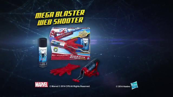 Amazing Spiderman 2 Mega Blaster Web Shooter TV Spot