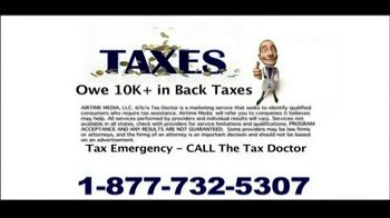 Call the Tax Doctor TV Spot - Thumbnail 6