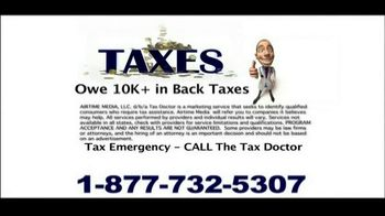 Call the Tax Doctor TV Spot - Thumbnail 9