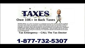 Call the Tax Doctor TV Spot thumbnail
