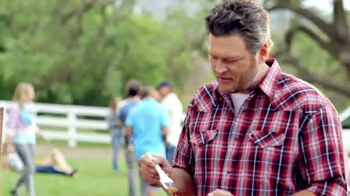 Pizza Hut Barbecue Pizzas TV Spot Featuring Blake Shelton - 1738 commercial airings