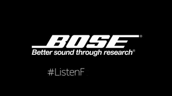 Bose SoundTrue and FreeStyle Headphones TV Spot, 'Listen For Yourself' - Thumbnail 9