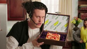 Subway Flatizza TV Spot, 'Christopher Columbus' - 13 commercial airings