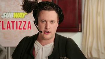 Subway Flatizza TV Spot, 'Christopher Columbus' - Thumbnail 6