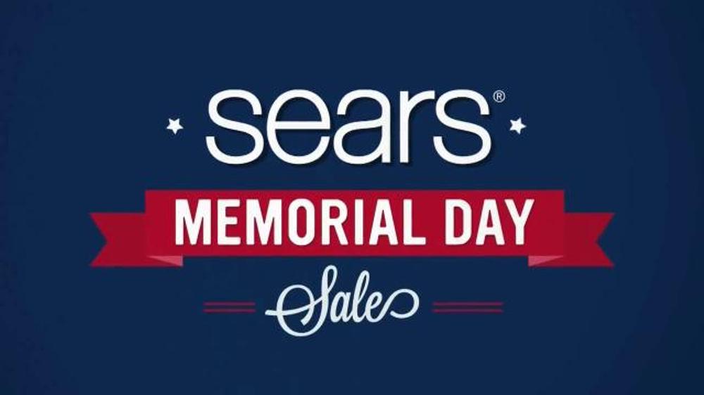 Sears Memorial Day Sale TV Spot