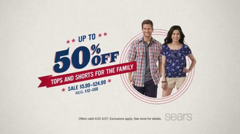 Sears Memorial Day Sale TV Spot - Thumbnail 2
