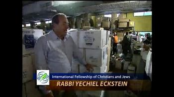 IFCJ TV Spot, 'Emergency Food Box' Featuring Rabbi Yechiel Eckstein - Thumbnail 1
