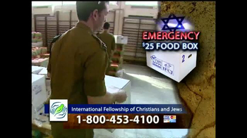 IFCJ TV Spot, 'Emergency Food Box' Featuring Rabbi Yechiel Eckstein - Thumbnail 8