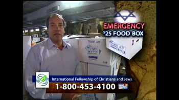 IFCJ TV Spot, 'Emergency Food Box' Featuring Rabbi Yechiel Eckstein - Thumbnail 4