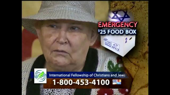 IFCJ TV Spot, 'Emergency Food Box' Featuring Rabbi Yechiel Eckstein