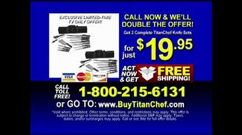 TitanChef Ultimate Knife Set TV Spot - Thumbnail 10