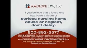 Sokolove Law TV Spot, 'Nursing Home' - Thumbnail 9