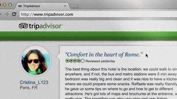 Trip Advisor TV Spot, 'Don't Just Visit Rome' - Thumbnail 10