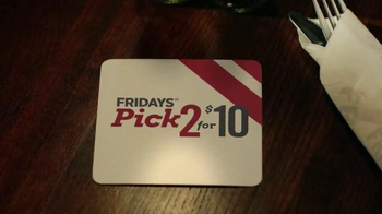 TGI Friday's Pick 2 for $10 TV Spot, 'New Friday's Menu' - Thumbnail 6