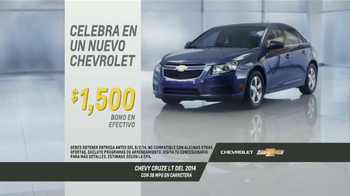 2014 Chevrolet Cruze LT TV Spot, 'Mes de Celebraciones' [Spanish] - Thumbnail 8
