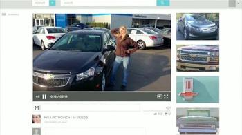 2014 Chevrolet Cruze LT TV Spot, 'Mes de Celebraciones' [Spanish] - Thumbnail 5