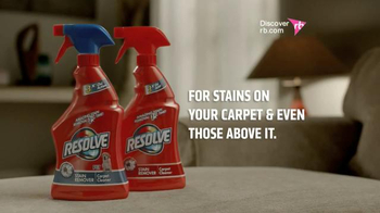 Resolve Stain Remover TV Spot, 'Muddy Couch' - Thumbnail 10