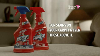 Resolve Stain Remover TV Spot, 'Muddy Couch' - Thumbnail 9