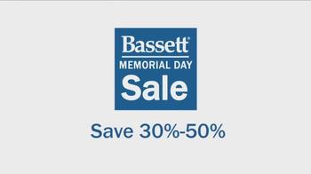 Bassett Memorial Day Sale TV Spot - Thumbnail 1