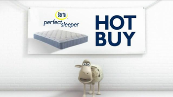 Serta TV Spot, 'Counting Sheep and Cross the Line' - Thumbnail 1
