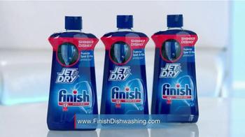 Finish Jet-Dry Rinse Agent TV Spot, 'Eliminate Spots & Residue' - Thumbnail 10