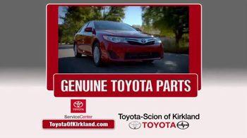Toyota of Kirkland TV Spot, 'Spring Service Special'